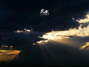 安卓风景 北京的天空手机壁纸