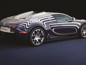 安卓Bugatti Veyron 布加迪 白金 跑车 汽车 宽屏手机壁纸