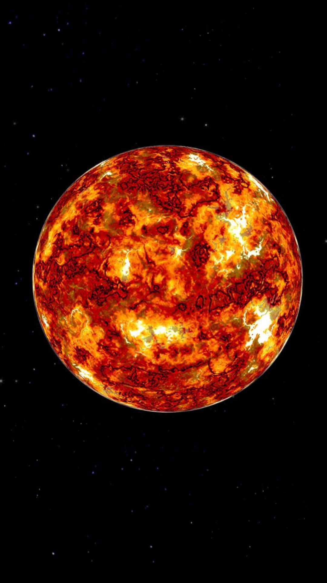 灼热的太阳主题动态壁纸