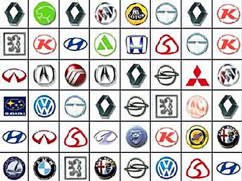 汽车标志 汽车灯光标志图解 各种汽车标志 汽车环保标志高清图片