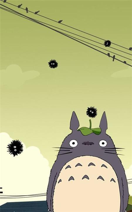 宫崎骏龙猫动态壁纸