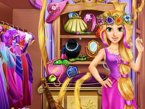 长发公主的衣柜