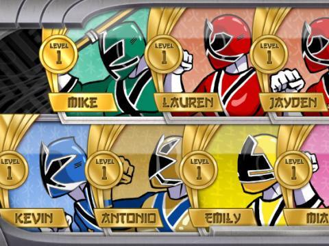 五星战队之超级武士加强版2